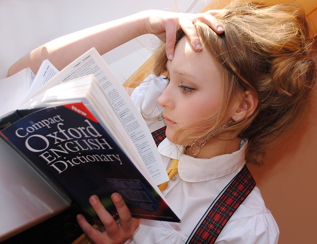 Pečlivá studentka