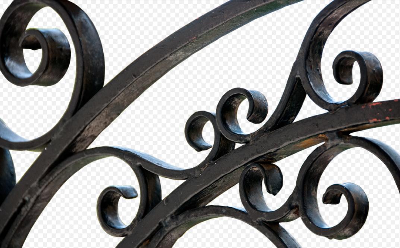 kovový plot