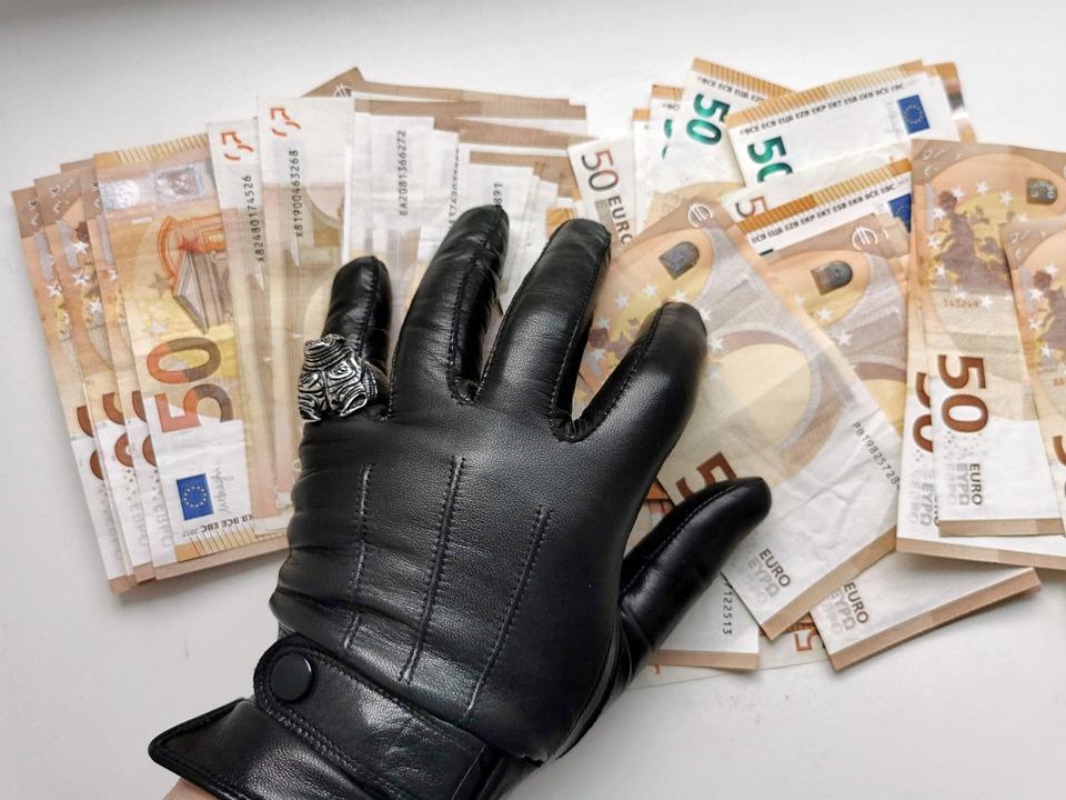 rukavice a eura